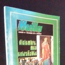Coleccionismo de Revistas y Periódicos: DIEZ AÑOS DE REFLEJO CULTURAL DE LA ASTURIAS MINERA / 1975 / HULLA Nº 47 / DEDICADO. Lote 95228211