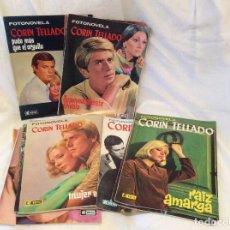 Coleccionismo de Revistas y Periódicos: LOTE REVISTAS ,FOTONOVELAS CORIN TELLADO AÑOS 60. Lote 95230611