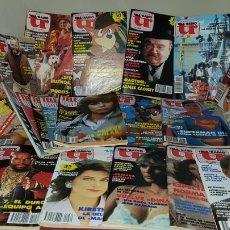 Coleccionismo de Revistas y Periódicos: LOTE DE 24 REVISTAS TR TELE RADIO TELE RADIO AÑOS 80 SIMILAR A TP . Lote 95238719