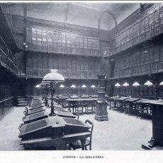 Coleccionismo de Revistas y Periódicos: MADRID 1905 ATENEO BIBLIOTECA HOJA REVISTA. Lote 95255239