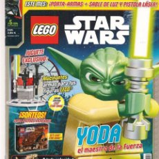 Coleccionismo de Revistas y Periódicos: REVISTA: LEGO. STAR WARS. Nº 5. NOVIEMBRE 2015. POSTER: DARTH MAUL. (B/59). Lote 95371207