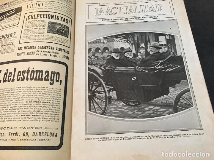Coleccionismo de Revistas y Periódicos: LA ACTUALIDAD Nº 382 29 NOVIEMBRE 1913. LA TROYANA, EXPRESIDENTES REPUBLICA FRANCESA - Foto 2 - 95468603