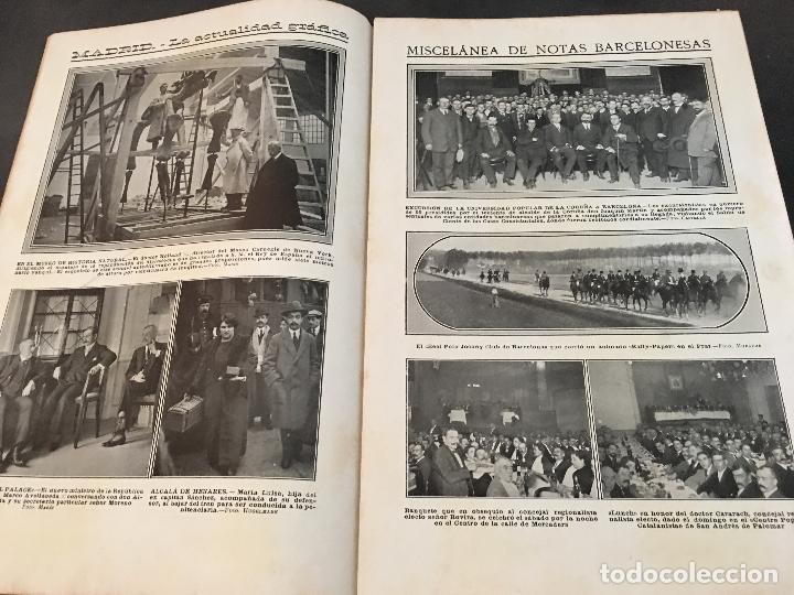 Coleccionismo de Revistas y Periódicos: LA ACTUALIDAD Nº 382 29 NOVIEMBRE 1913. LA TROYANA, EXPRESIDENTES REPUBLICA FRANCESA - Foto 3 - 95468603