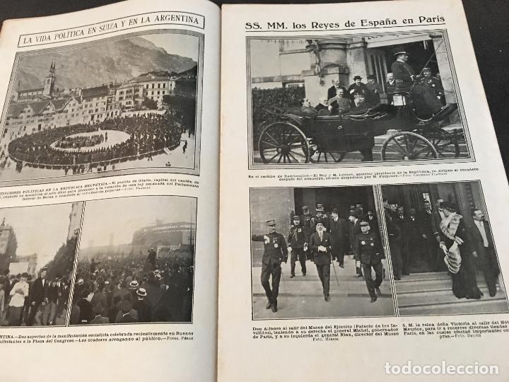 Coleccionismo de Revistas y Periódicos: LA ACTUALIDAD Nº 382 29 NOVIEMBRE 1913. LA TROYANA, EXPRESIDENTES REPUBLICA FRANCESA - Foto 4 - 95468603