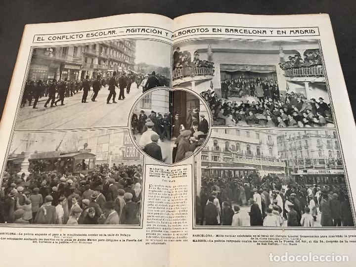 Coleccionismo de Revistas y Periódicos: LA ACTUALIDAD Nº 382 29 NOVIEMBRE 1913. LA TROYANA, EXPRESIDENTES REPUBLICA FRANCESA - Foto 6 - 95468603