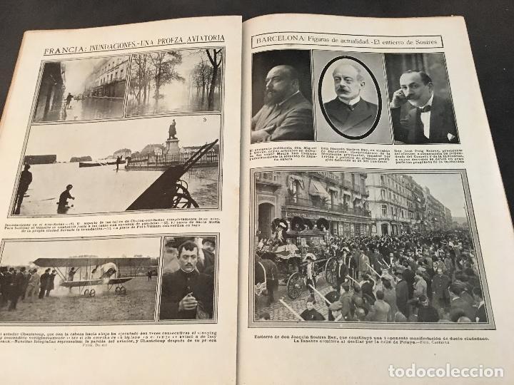 Coleccionismo de Revistas y Periódicos: LA ACTUALIDAD Nº 382 29 NOVIEMBRE 1913. LA TROYANA, EXPRESIDENTES REPUBLICA FRANCESA - Foto 7 - 95468603