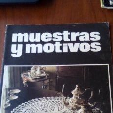 Coleccionismo de Revistas y Periódicos: REVISTA GANCHILLO MUESTRAS Y MOTIVOS N 1. Lote 95557275