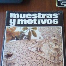 Coleccionismo de Revistas y Periódicos: REVISTA GANCHILLO MUESTRAS Y MOTIVOS N 9. Lote 95557435