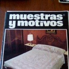 Coleccionismo de Revistas y Periódicos: REVISTA GANCHILLO MUESTRAS Y MOTIVOS N 15. Lote 95557775