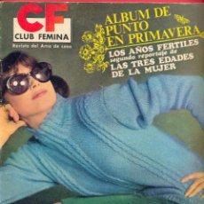 Coleccionismo de Revistas y Periódicos: REVISTA CLUB FEMINA DEL AMA DE CASA Nº 56 -1967 - ALBUM DE PUNTO EN PRIMAVERA - 48 PÁGINAS.. Lote 95584463