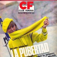Coleccionismo de Revistas y Periódicos: REVISTA CLUB FEMINA DEL AMA DE CASA Nº55 -1967- EN ESTE NÚMERO, LA PUBERTAD - 58 PÁGINAS.. Lote 95584803