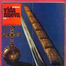 Coleccionismo de Revistas y Periódicos: REVISTA VIDA NUEVA Nº944- 27 DE AGOSTO DE 1974 -IGLESIA-ESTADO EN ESPAÑA- DOS LECCIONES DE HISTORIA. Lote 95653483