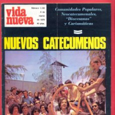Coleccionismo de Revistas y Periódicos: REVISTA VIDA NUEVA Nº 1120 - 4 DE MARZO DE 1978 - NUEVOS CATECÚMENOS - 50 PÁGINAS. Lote 95660959