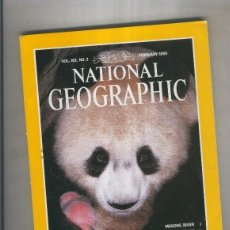 Coleccionismo de Revistas y Periódicos: NATIONAL GEOGRAPHIC 1993 FEBRUARY: NEWBORN PANDA IN THE WILD . Lote 95715956