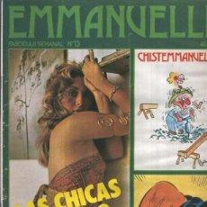 Coleccionismo de Revistas y Periódicos: EMMANUELLE NUMERO 013: BLANCANIEVE Y LOS SIETE ENANITOS. Lote 95716990