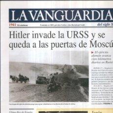 Coleccionismo de Revistas y Periódicos: LA VANGUARDIA 1941. Lote 95717099