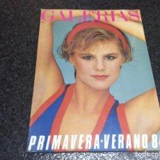 Coleccionismo de Revistas y Periódicos: CATALOGO MODA GALERIAS PRECIADOS PRIMAVERA VERANO 1984. Lote 95760347