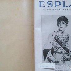Coleccionismo de Revistas y Periódicos: ESPLAI IL·LUSTRACIÓ CATALANA 26 NÚMEROS Nº 162 AL Nº 187 ENERO-JUNIO 1935. Lote 95770103