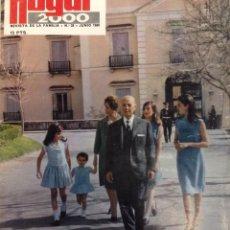 Coleccionismo de Revistas y Periódicos: REVISTA HOGAR 2000 Nº 28 JUNIO 1969 - FRANCO- HOGAR EJEMPLAR DE HONOR. Lote 95796571