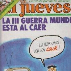 Coleccionismo de Revistas y Periódicos: EL JUEVES NUMERO 178 - POSTER CENTRAL CONSTRUCCIONES EL JUEVES. Lote 95807079