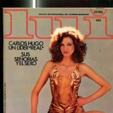 Coleccionismo de Revistas y Periódicos: REVISTA LUI NUMERO 19: MARLENE ANGEL RUBIO, LETICIA Y ELENA, GAMIANI. Lote 95842506