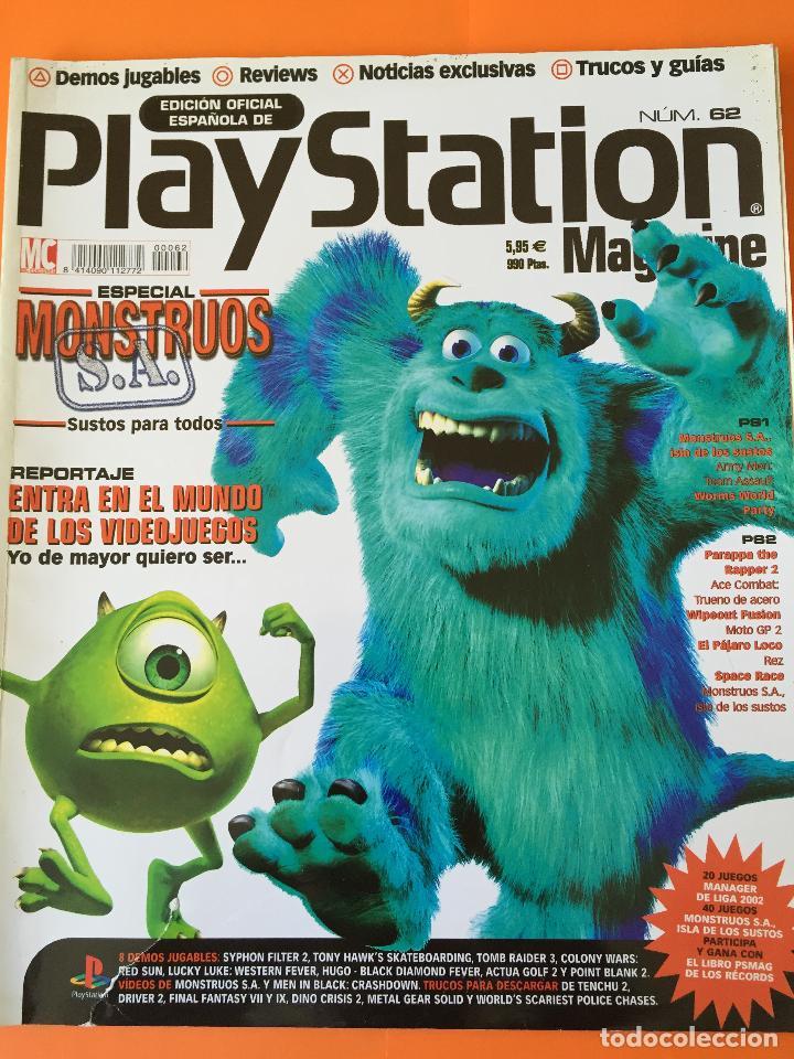 REVISTA PLAYSTATION MAGAZINE Nº 62 (Coleccionismo - Revistas y Periódicos Modernos (a partir de 1.940) - Otros)