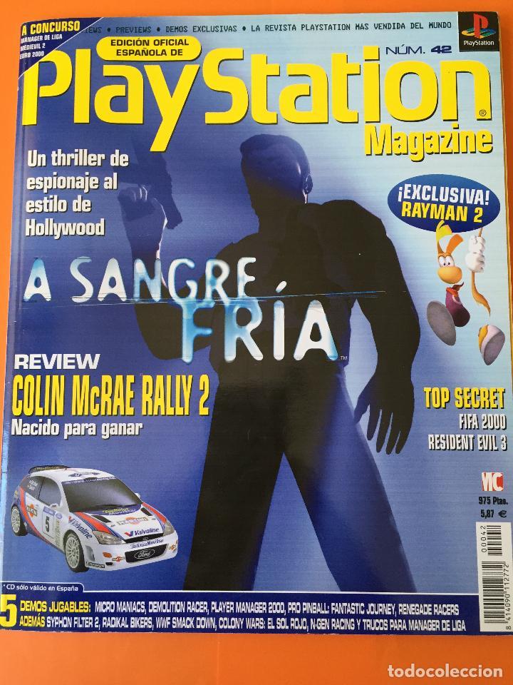 REVISTA PLAYSTATION MAGAZINE Nº 42 (Coleccionismo - Revistas y Periódicos Modernos (a partir de 1.940) - Otros)