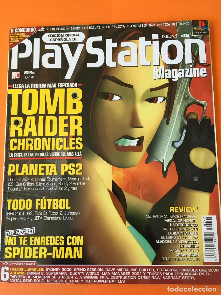 REVISTA PLAYSTATION MAGAZINE Nº 48 (Coleccionismo - Revistas y Periódicos Modernos (a partir de 1.940) - Otros)
