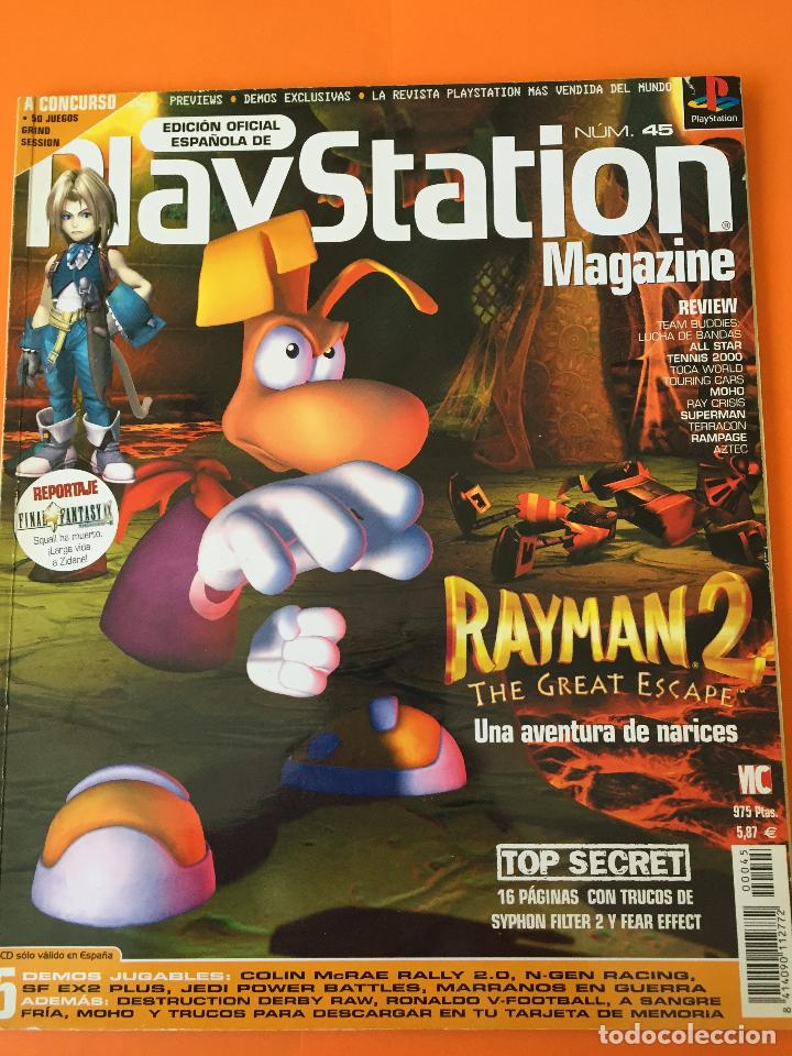 REVISTA PLAYSTATION MAGAZINE Nº 45 (Coleccionismo - Revistas y Periódicos Modernos (a partir de 1.940) - Otros)