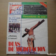 Coleccionismo de Revistas y Periódicos: REVISTA FUERZA NUEVA. N. 691 5 ABRIL 1980. Lote 95885819