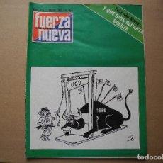 Coleccionismo de Revistas y Periódicos: REVISTA FUERZA NUEVA. N. 678 5 ENERO 1980. Lote 95888615