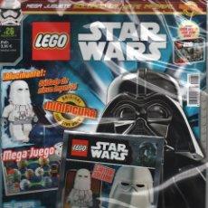 Coleccionismo de Revistas y Periódicos: LEGO REVISTA STAR WARS 26 AGO-17 NUEVA PRECINTADA CON FIGURA IMPERIAL SNOWTROOPER. Lote 95907479