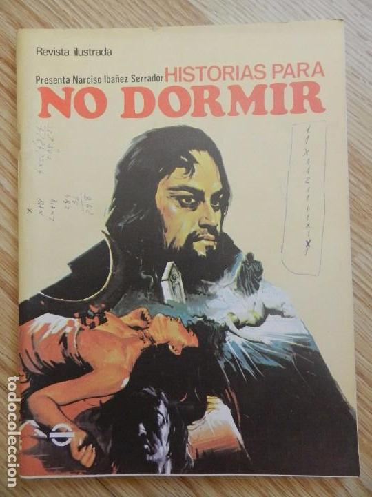 Usado, Historias para no dormir Volumen VII nº 7 Narciso ibáñez serrador Paul Naschy revista ilustrada 1973 segunda mano