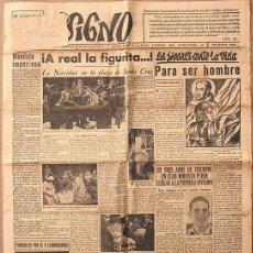 Coleccionismo de Revistas y Periódicos: SIGNO. SEMANARIO NACIONAL DE LA JUVENTUD DE ACCIÓN CATÓLICA DE ESPAÑA. MADRID 26 DICIEMBRE 1942. Lote 96011231