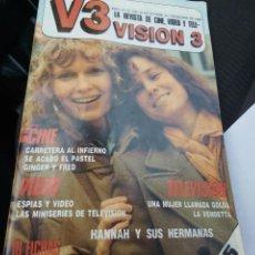 Coleccionismo de Revistas y Periódicos: VISION 3. NÚMERO 21.1986. MUY BUEN ESTADO.. Lote 96033055
