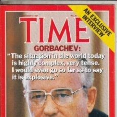 Coleccionismo de Revistas y Periódicos: REVIST ATIME 9 NOVIEMBRE 1985. GORBACHEV. . Lote 96071559