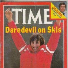 Coleccionismo de Revistas y Periódicos: REVIST TIME 25 FEBRERO 1980. AUSTRIA LAEOHRD STOCK.. Lote 96148175