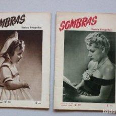 Coleccionismo de Revistas y Periódicos: REVISTAS : SOMBRAS - LOTE DE 5 REVISTAS. Lote 96166907