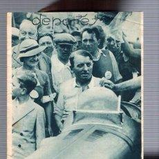 Coleccionismo de Revistas y Periódicos: FUTBOL 1934 - 5 AGOSTO 1934 / SECCION DEPORTIVA COMPLETA. Lote 96250031