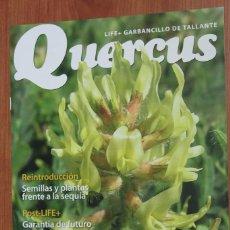 Coleccionismo de Revistas y Periódicos: LIFE + GARBANCILLO DE TALLANTE - SUPLEMENTO REVISTA QUERCUS Nº 363 MAYO 2016. Lote 96335631