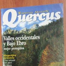 Coleccionismo de Revistas y Periódicos: ESPECIAL ARAGON - SUPLEMENTO REVISTA QUERCUS. Lote 96336571