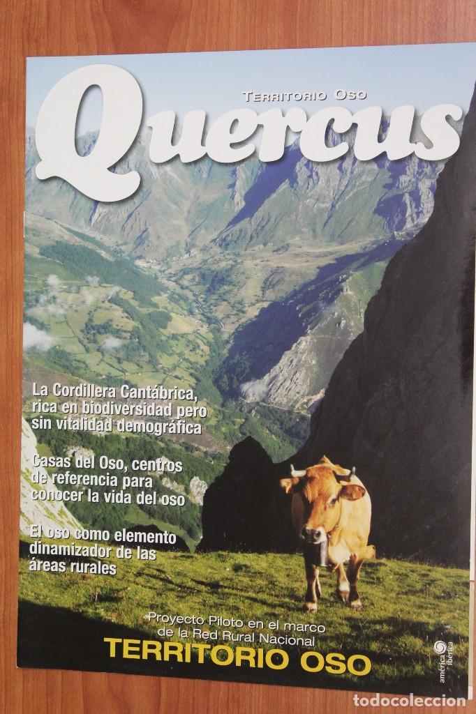 TERRITORIO OSO - SUPLEMENTO REVISTA QUERCUS Nº 318 AGOSTO 2012 (Coleccionismo - Revistas y Periódicos Modernos (a partir de 1.940) - Otros)