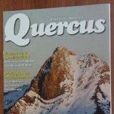 Coleccionismo de Revistas y Periódicos: ESPECIAL ARAGON - SUPLEMENTO REVISTA QUERCUS Nº 298 DICIEMBRE 2010. Lote 96336815