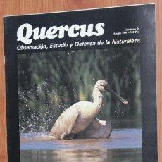 Coleccionismo de Revistas y Periódicos: REVISTA QUERCUS - CUADERNO 54 - AGOSTO 1990. Lote 96357503