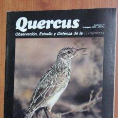 Coleccionismo de Revistas y Periódicos: REVISTA QUERCUS - CUADERNO 57 - NOVIEMBRE 1990. Lote 96357655