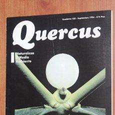Coleccionismo de Revistas y Periódicos: REVISTA QUERCUS - CUADERNO 103 - SEPTIEMBRE 1994 MUERDAGO PLANTAS PARASITAS, RIO TINTO, CABRERA. Lote 96357911