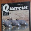 Coleccionismo de Revistas y Periódicos: REVISTA QUERCUS - CUADERNO 80 - OCTUBRE 1992 TRASHUMANCIA PIRINEOS, VISON AMERICANO EN ESPAÑA. Lote 96358499