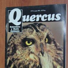 Coleccionismo de Revistas y Periódicos: REVISTA QUERCUS - CUADERNO 76 - JUNIO 1992. Lote 96358643