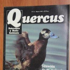 Coleccionismo de Revistas y Periódicos: REVISTA QUERCUS - CUADERNO 73 - MARZO 1992 MALVASIA ESPAÑA, ATUNES AGUAS IBERICAS, BIOLOGIA CACTUS. Lote 96358867