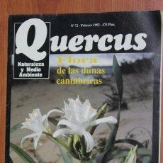 Coleccionismo de Revistas y Periódicos: REVISTA QUERCUS - CUADERNO 72 - FEBRERO 1992. Lote 96358907